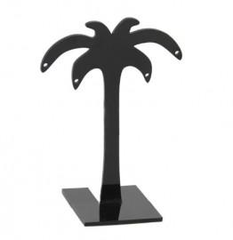 Expositor de brinco acrilico coqueiro preto