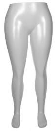 Expositor calca feminino plastico GG branco (SEM BASE)