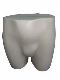 Expositor busto short masculino branco