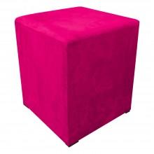 Puf quadrado rosa pink