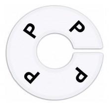 Numerador araras P acrílico