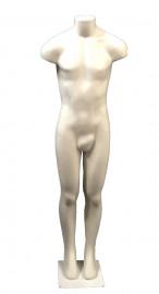 Manecao afunilado masculino branco