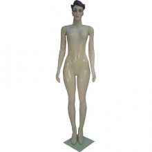 Manequim feminino em plástico reto 41