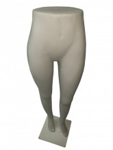 Expositor calça feminino branco (SEM BASE)