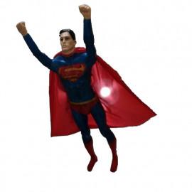 Manequins masculinos Super Homem Voando (Base Opcional)