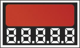 Etiqueta Micro micro digito c/50 4x2 laranja
