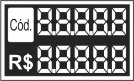 Etiqieta Mini 7,0 x 4,5 cod e preco (caixa com 50)