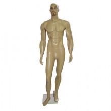 Manequim masculino em fibra reto 90