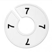 Numerador araras 07 branco