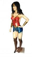 Manequim Super Heróis Mulher Maravilha