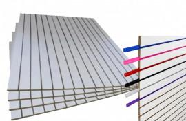 Painel Canaletado 1,22 x 1,22 branco