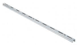 Trilho de cremalheira 1,98 m simples zincado