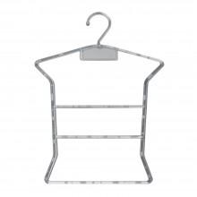 Kit com 10 cabides bebe silhueta acrilico transparente