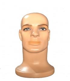 Expositor de masc de bone bege