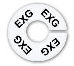 Numerador araras EXG branco