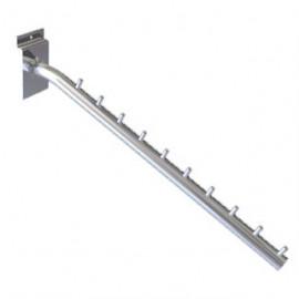 RT painel pino 25 cm metal preto