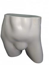 Expositor short masculino branco
