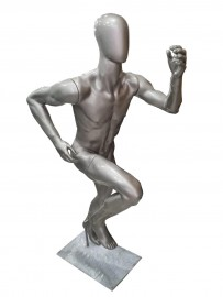Corredor atleta fitnnes masculino