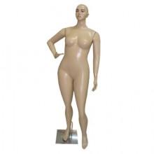 Manequim feminino em plástico mão na cintu-Arara gorda