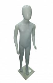 Manequins unisex plastico infantil cara ovo branco (COM BASE )