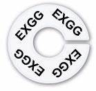 Numerador araras EXGG acrílico