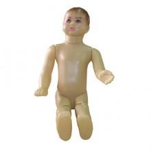 Manequim masculino em plástico infantil reto 97