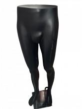 Expositor calça masculino Reto preto fosco
