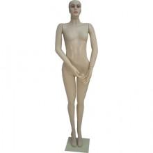 Manequim feminino em plástico reto 4543