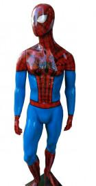Manequim masculino homem aranha em pé (Base Opcional)