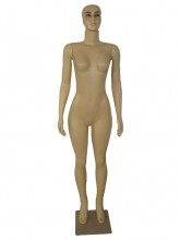 Manequim feminina plastico Reto pele (SEM BASE)
