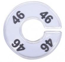 Numerador araras 46 acrílico