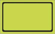 Etiqueta Micro lisa caixa com 50 4 x 20 verde