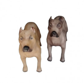 Cachorro de fibra Pitbull