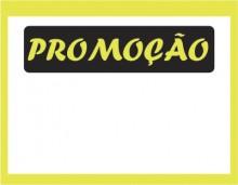 Etiqueta Mini promoção caixa com 50 8,9 x 6,2 verde