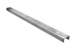 Trilho de cremalheira 1,98 m duplo zincado